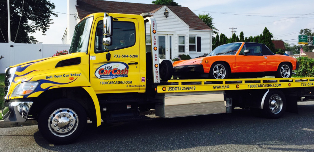 Car Cash NJ Tow Truck